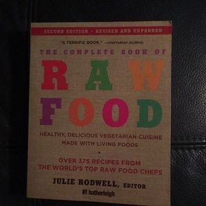 3/$30 The complete book of Raw Food